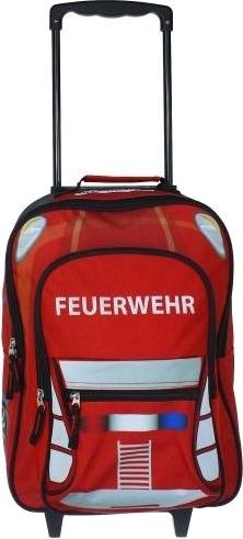 Fabrizio trolley Brandweer 21,5 liter rood