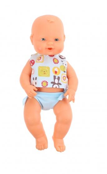 Falca babypop 34 cm meisjes blauw