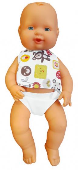 Falca babypop Air Bolsa 34 cm meisjes wit