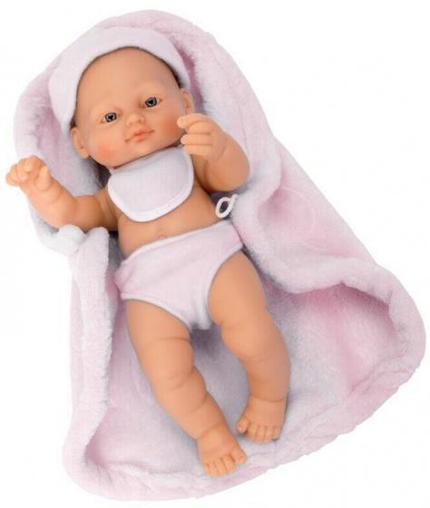 Falca babypop New Born 25 cm roze