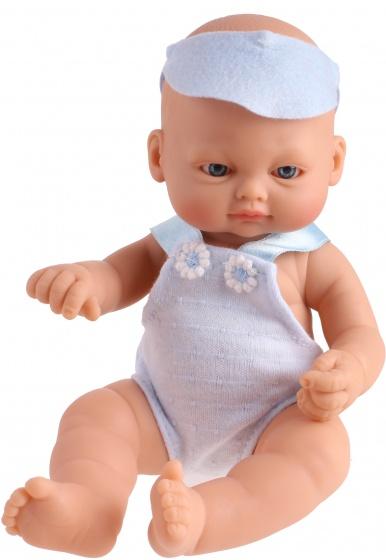 Falca babypop New Born 23 cm blauw