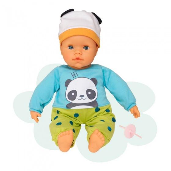 Falca interactieve babypop 38 cm panda multicolor