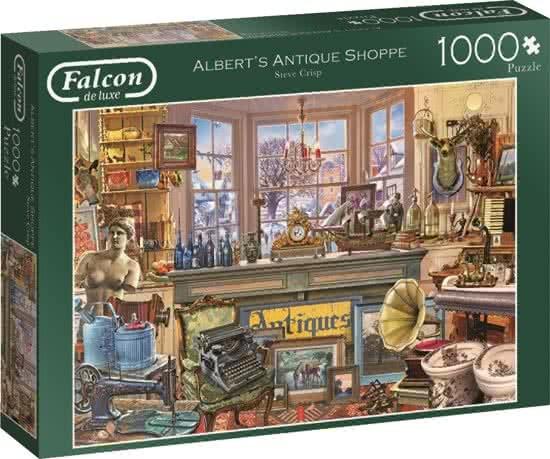 Jumbo Falcon legpuzzel Albert's Antique Shoppe 1000 stukjes