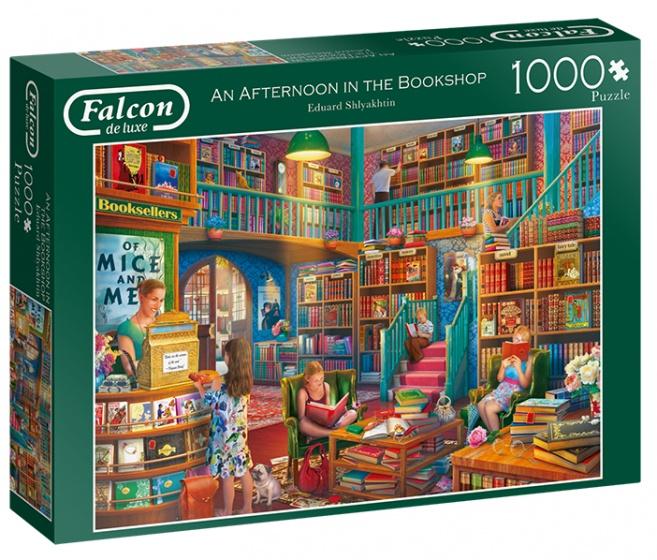Falcon legpuzzel An Afternoon in the Bookshop 1000 stukjes