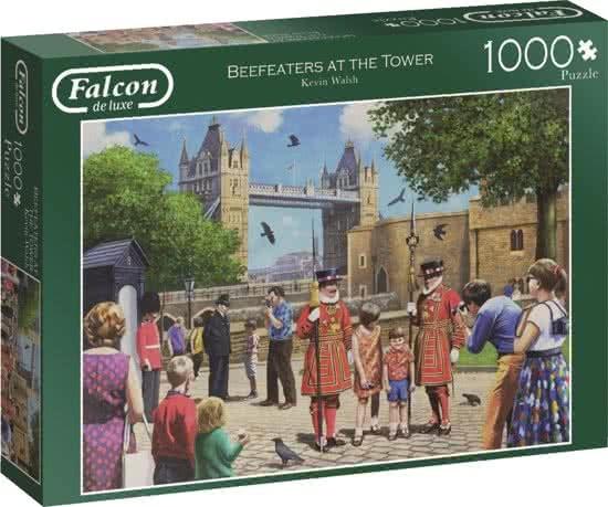Jumbo Falcon legpuzzel Beefeaters At The Tower 1000 stukjes