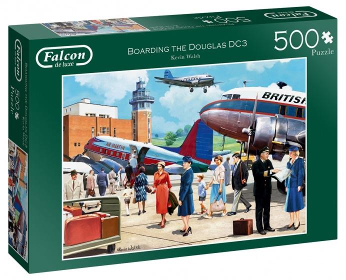 Jumbo legpuzzel Falcon Boarding the Douglas DC3 500 stukjes