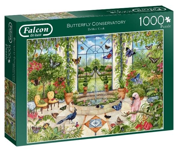 Jumbo legpuzzel Falcon Butterfly Conservatory 1000 stukjes