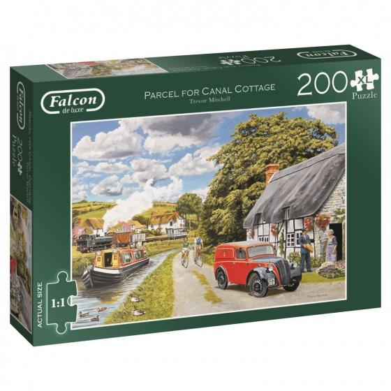 Jumbo Falcon legpuzzel Canal Cottage 200 stukjes XL