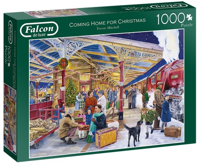 Falcon legpuzzel Coming Home for Christmas 1000 stukjes
