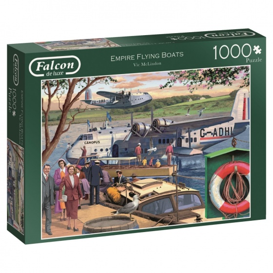 Jumbo Falcon legpuzzel Empire Flying Boats 1000 stukjes