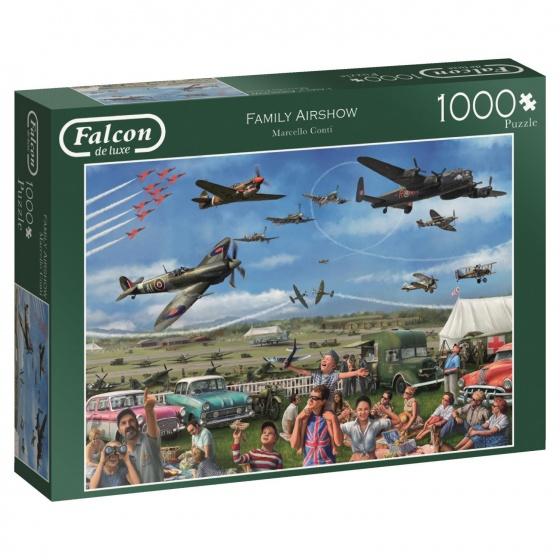 Jumbo Falcon legpuzzel Family Airshow 1000 stukjes