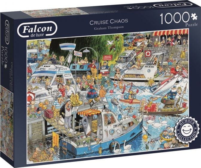 Jumbo Falcon legpuzzel Graham Thompson Cruise 1000 stukjes