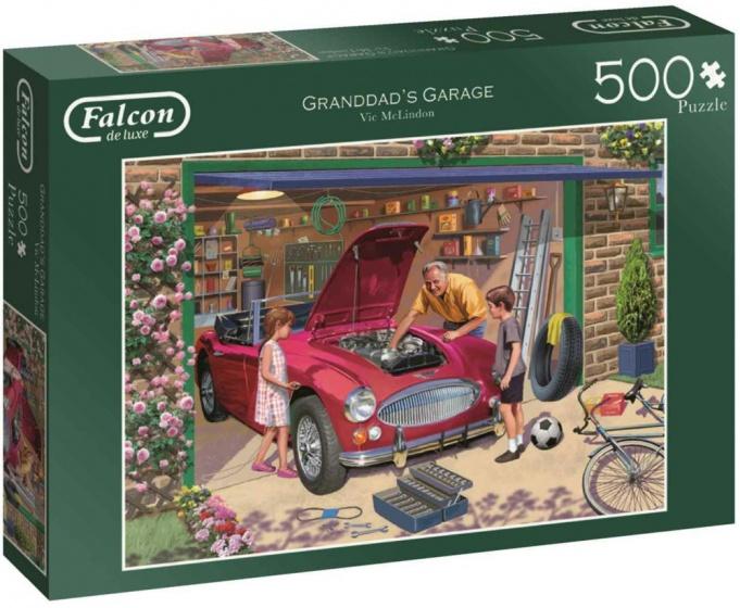 Jumbo Falcon legpuzzel Grandad's Garage 500 stukjes