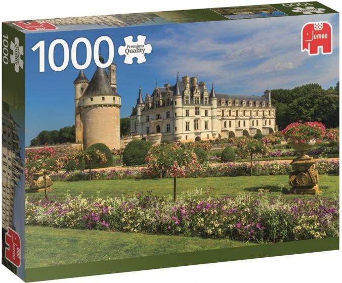 Jumbo legpuzzel Loire Castle 1000 stukjes