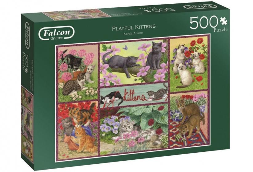 Jumbo Falcon legpuzzel Playful Kittens 500 stukjes