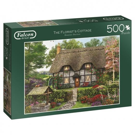 Jumbo Falcon legpuzzel The Florist's Cottage 500 stukjes