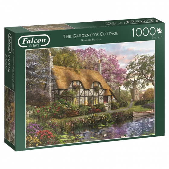Jumbo Falcon legpuzzel The Gardener's Cottage 1000 stukjes