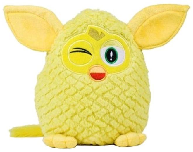 Famosa knuffel Furby 29 cm geel