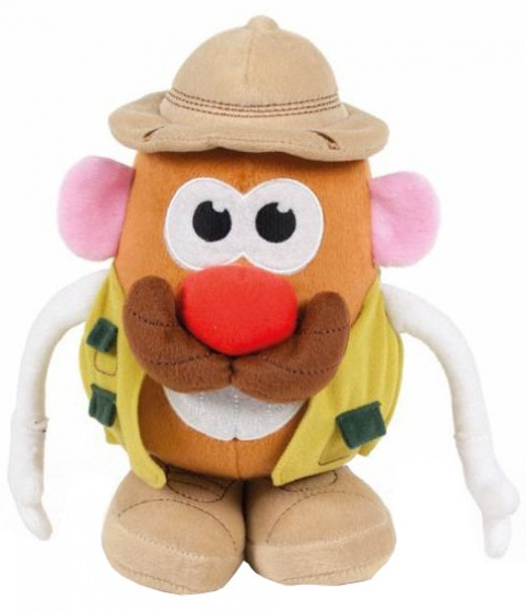 Famosa knuffel Mr. Potato Head padvinder 18 cm lichtbruin