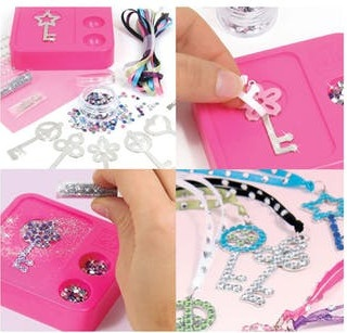 Fashion Angels Style Me Up Sweet Key Charms Internet Toys