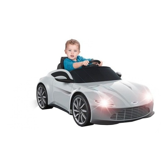 Feber accuvoertuig Aston Martin auto 007 James Bond 6v