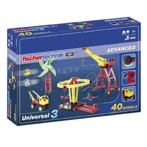 Fischertechnik Constructie Set Advanced Universal 3 500 delig