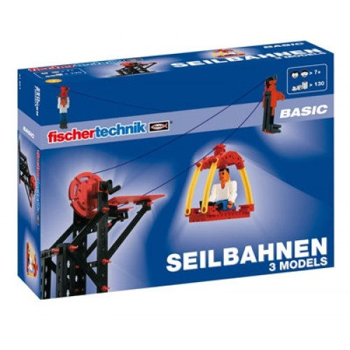 Fischertechnik Constructie Set Advanced Kabellift 130 delig