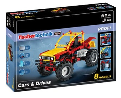 Fischertechnik Constructie Set Cars & Drives 280 delig