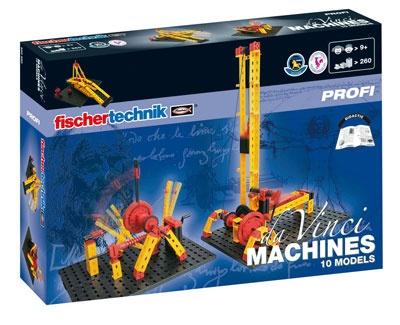 Fischertechnik Constructie Set Da Vinci Machines 260 delig