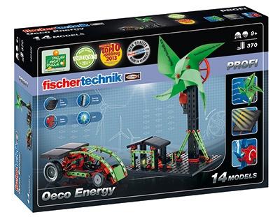 Fischertechnik Constructie Set Oeco Energy 370 delig