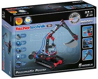 Fischertechnik Constructie Set Pneumatic Power 200 delig