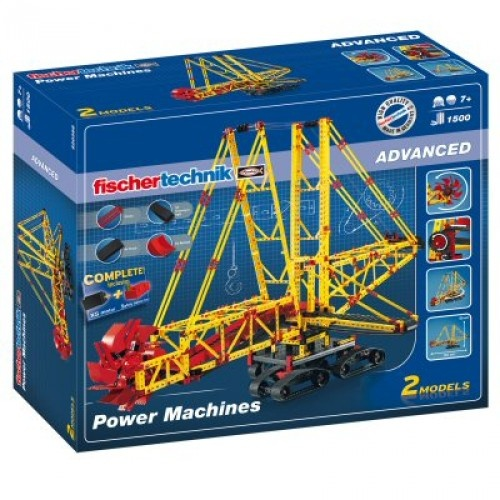 Fischertechnik Constructie Set Power Machines 1500 delig