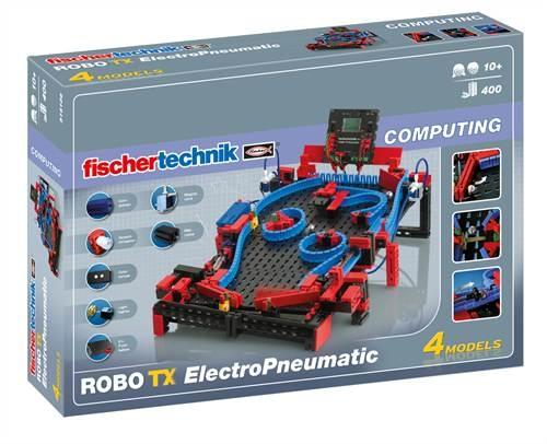 Fischertechnik Constructieset Robo TX Electro Pneumatic 440 delig