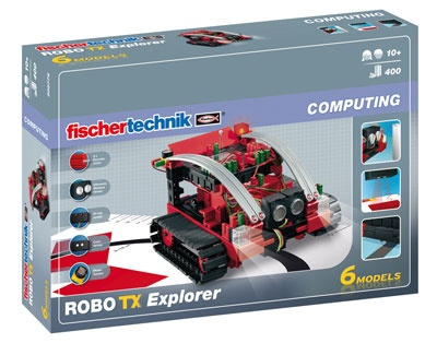 Fischertechnik Constructie Set Robo TX Explorer 400 delig