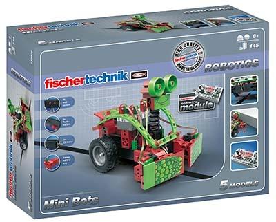 Fischertechnik Constructie Set Robotics Mini Bots 145 delig