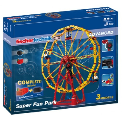 Fischertechnik Constructie Set Super Fun Park 660 delig