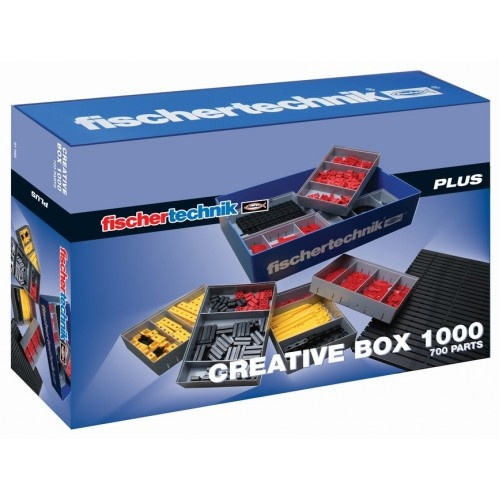 Fischertechnik Creative Box 1000 720 delig