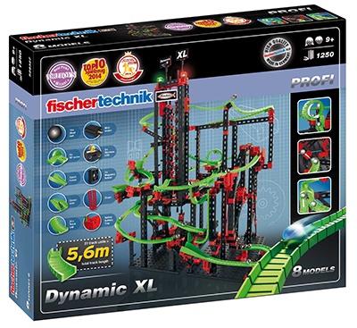 Fischertechnik Knikkerbaan Dynamic XL 1250 delig
