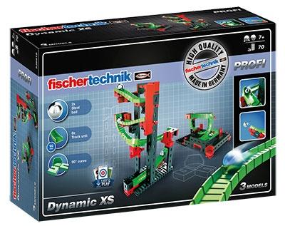 Fischertechnik Knikkerbaan Dynamic XS 70 delig