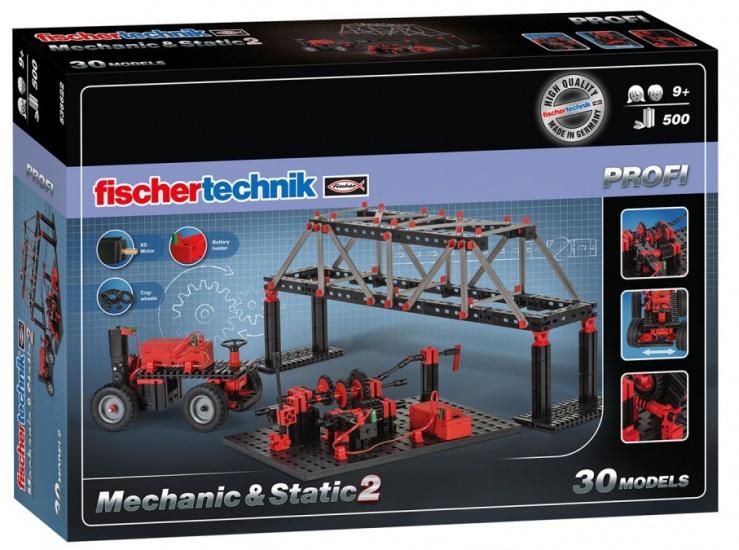 Fischertechnik Mechanic & Static set 500 delig