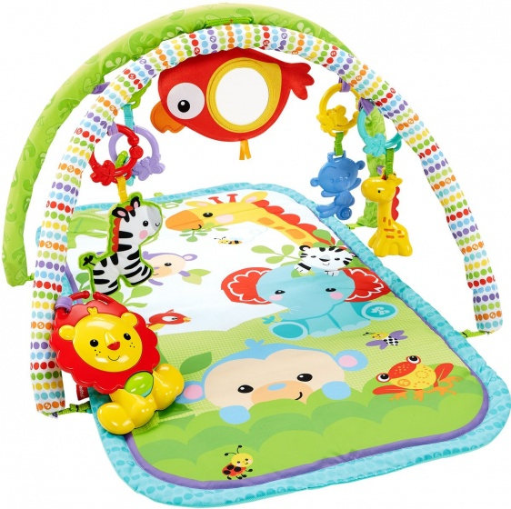 Fisher Price 3 in 1 muzikale babygym