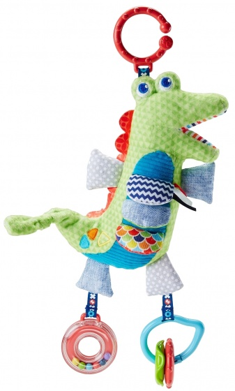 Fisher Price Activity krokodil pluche 23 cm