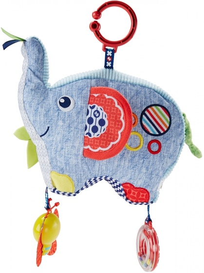 Fisher Price Activity olifant pluche 23 cm