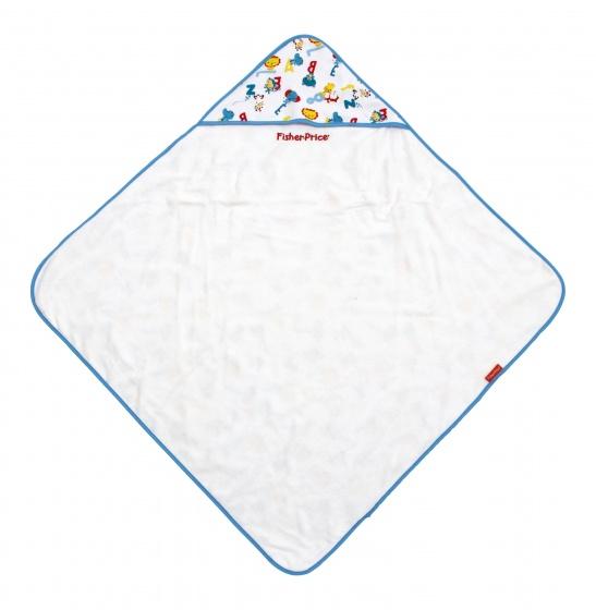 Fisher Price badcape dierenprint 75 cm