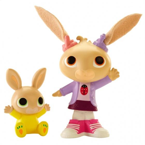Fisher Price Bing speelfiguren Coco & Charlie 7 cm