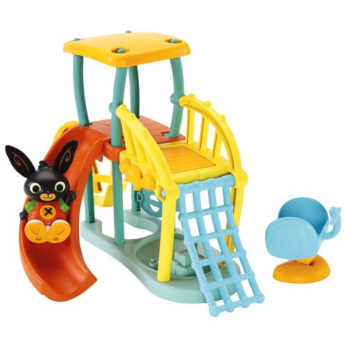 Fisher Price Bing speelset speeltuin 19 cm 4 delig