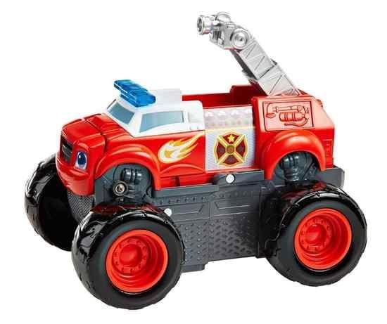 Fisher Price Blaze en de Monsterwielen brandweerauto 2 in 1