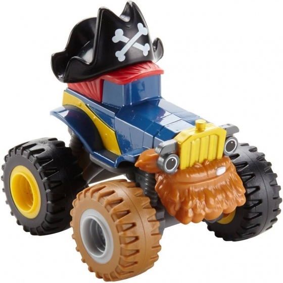 Fisher Price Blaze en de Monsterwielen monstertruck Pete blauw