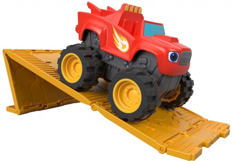 Blaze en de Monsterwielen - Off-road Blaze gemotor