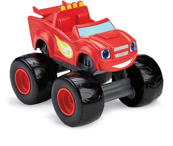 Fisher Price Blaze en de Monsterwielen pratende Blaze rood
